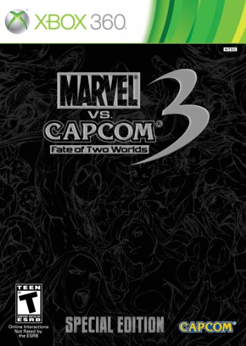 Marvel vs. Capcom 3: Fate of Two Worlds: Special Edition -Xbox 360 (360 Xbox Wolverine)