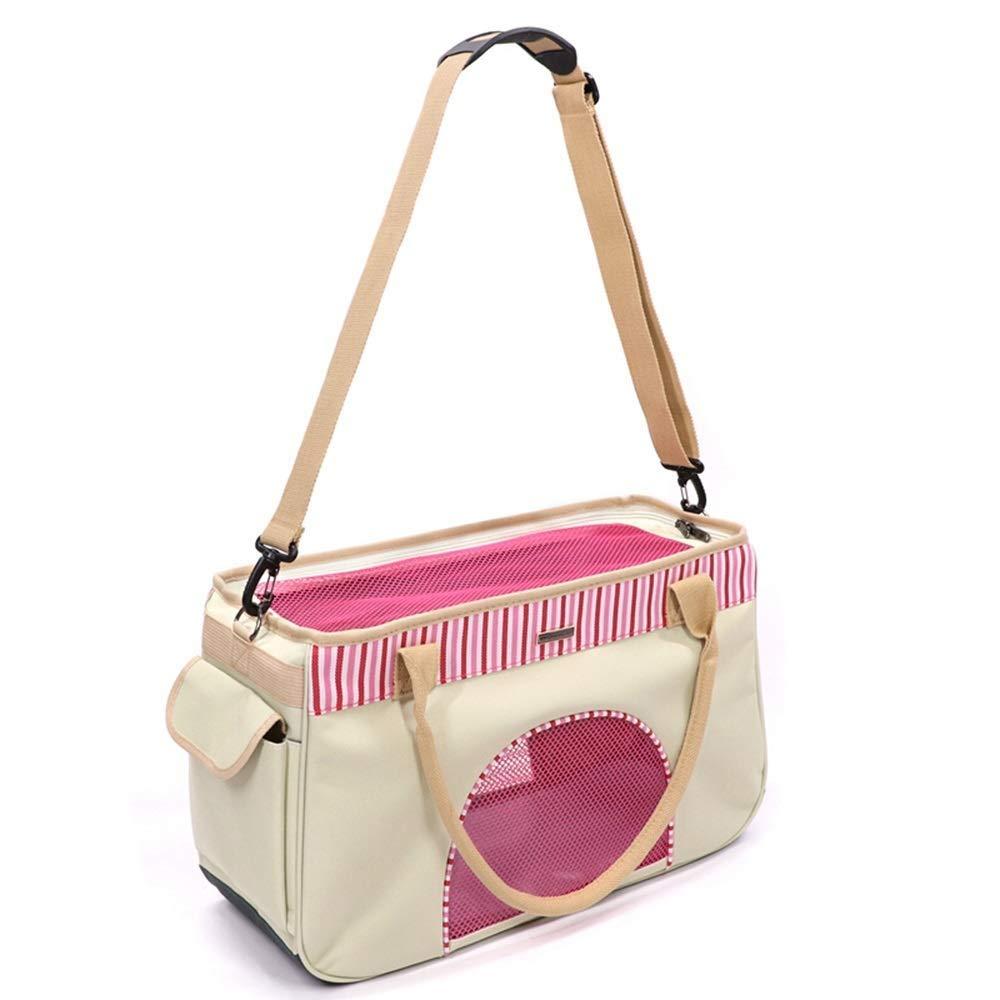 C 43CMX18CMX27CMQQW Pet Carrier Backpack, Adjustable Pet Front Cat Dog Carrier Backpack Travel Bag, EasyFit for Traveling Hiking Camping (color   B, Size   43CMX18CMX27CM)