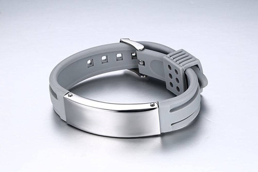 Gift from Wife,Birthday MEALGUET to My Husband I Will Keep Choosing You Black Silicone Bracelet Wristband for Him