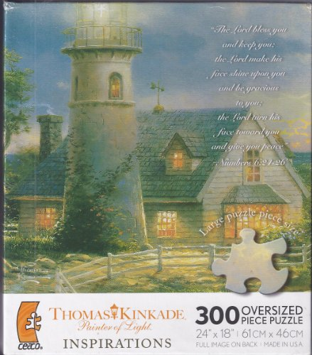 Thomas Kinkade Inspirations 300 Piece Oversized Puzzle