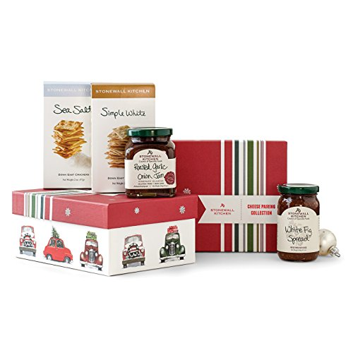 Stonewall Kitchen Holiday Entertaining Collections & Gift Sets (Holiday Cheese Pairing Collection) (Cheese Gift Sets Christmas)