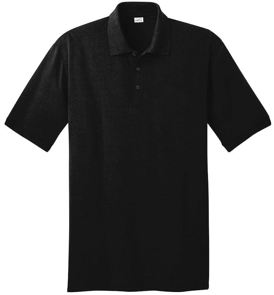 Amazon Joes Usa Mens Tall Polo Shirt4x Talljet Black