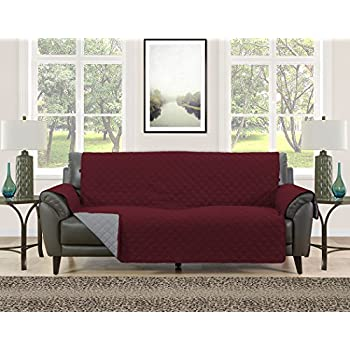 Amazon Com Blissful Living Reversible Non Slip Couch
