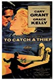 To Catch a Thief Movie Poster (27 x 40 Inches - 69cm x 102cm) (1955) -(Cary Grant)(Grace Kelly)(Jessie Royce Landis)(John Williams)(Charles Vanel)(Brigitte Auber) by MG Poster