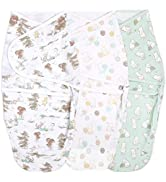 aden + anais Essentials Easy Wrap Swaddle, Cotton Knit Baby Wrap, Newborn Wearable Swaddle Sleep ...