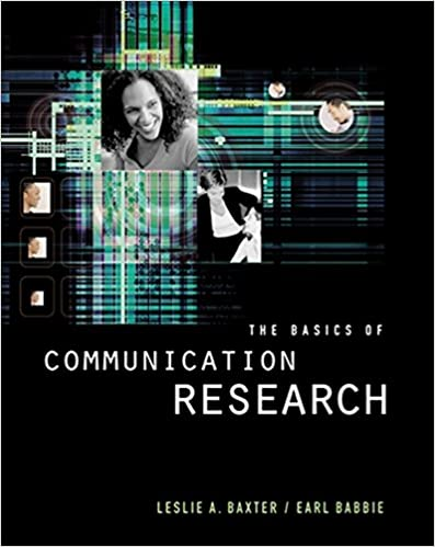 Amazon the basics of communication research with infotrac the basics of communication research with infotrac wadsworth series in speech communication 9780534507787 leslie a baxter earl r babbie books fandeluxe Choice Image