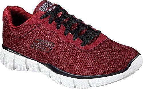 SKECHERS - Herren Sneaker - EQUALIZER 2.0 ARLOR - Rot Schuhe in Übergrößen