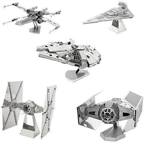 Metal Earth Star Wars Resistance A-Wing Fighter:DIY laser cut 3D steel model kit