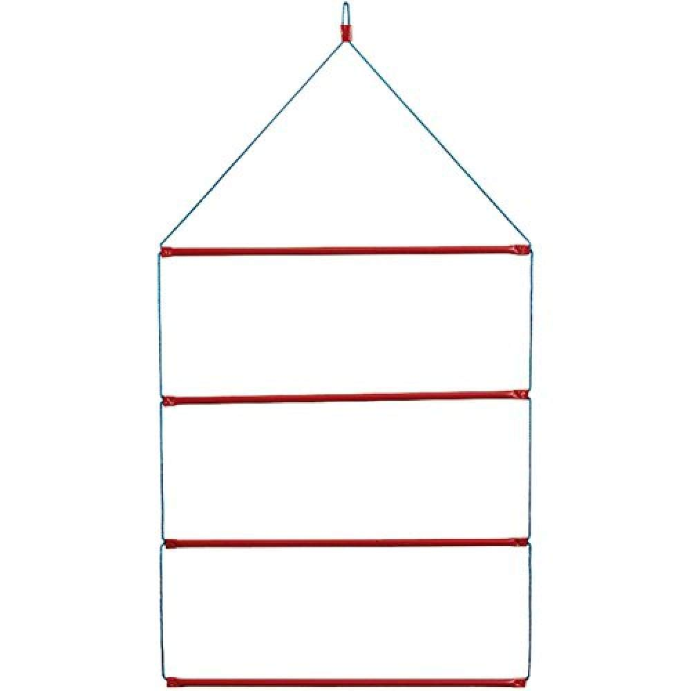 Stubbs Hanging Blanket Rack (One Size) (Blue/Red) by Stubbs