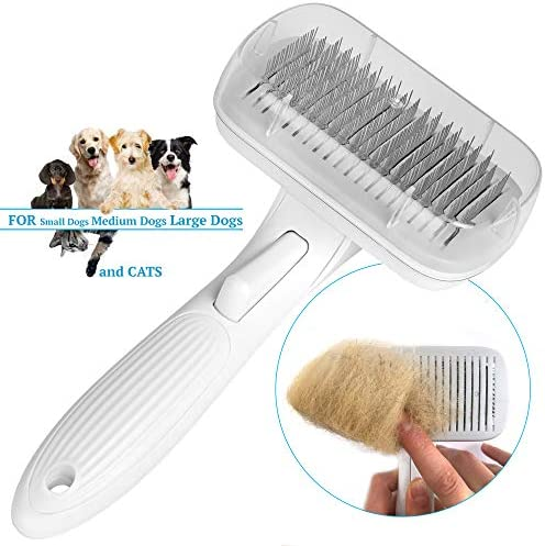 Self Cleaning Grooming Brush Auto Cleaning