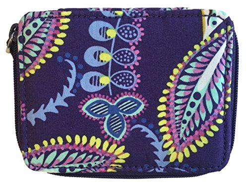(Vera Bradley Travel Pill Case, Batik Leaves)