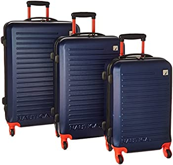 3-Pc. Nautica Tide Beach Spinner Luggage Set