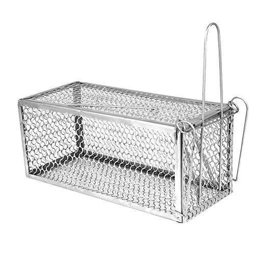 Corner Biz Garden - Mice Repeller Non Toxic Stainless Steel Mole Mouse Trap Cage Rodent Animal Rat Hamster Squirrel Control Catch Pest Reject