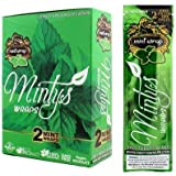 Mintys Mint Wraps box of 25 packs of 2 wraps - 50 wraps total by Mintys