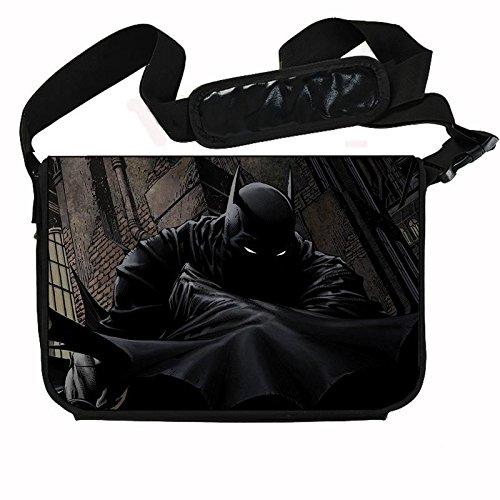 Batman Laptop - Batman Comic Book Superhero Stylish Messenger Bag/Laptop Bag (15 x 11) Inches