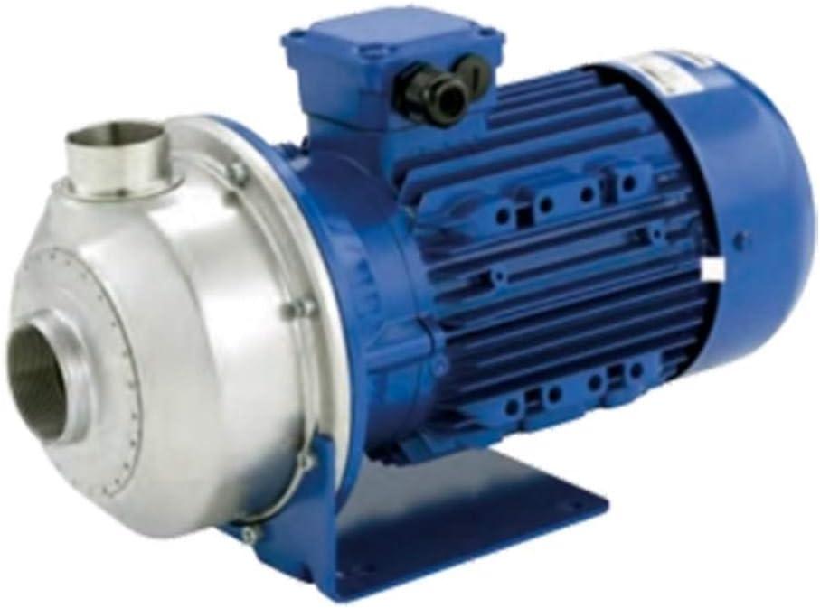 Lowa - Bomba de agua CO50030 3 kW acero inoxidable con rueda abierta hasta 54 m3/h trifásico 380 V