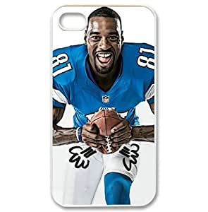 iPhone 4/4s hard case with Detroit Lions Calvin Johnson image