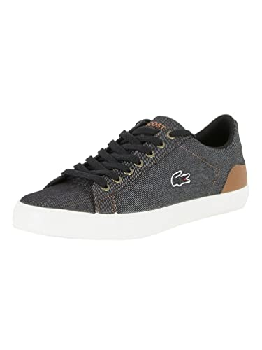 385d8d3be Mens Lacoste Black Brown Lerond 317 2 Cam Trainers  Amazon.co.uk  Shoes    Bags