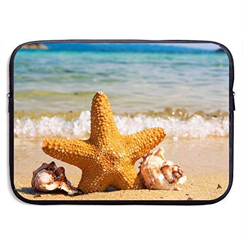 505 Apple (13 Inch Laptop Sleeve Briefcase,Starfish Beach Neoprene Waterproof Handbag for Surface Laptop MacBook Pro 13.3