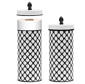 Amazon Com Toilet Roll Storage Holder Free Standing