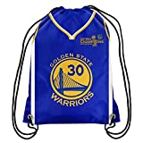 Golden State Warriors 2017 NBA Champions Steph Curry #30 Drawstring Backpack