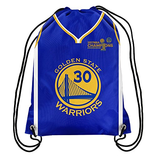 FOCO Golden State Warriors 2017 NBA Champions Steph Curry #30 Drawstring Backpack (Nba String Lights)