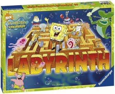 Ravensburger 26489 SpongeBob - Juego de mesa de Bob Esponja [Importado de Alemania]: Amazon.es: Electrónica