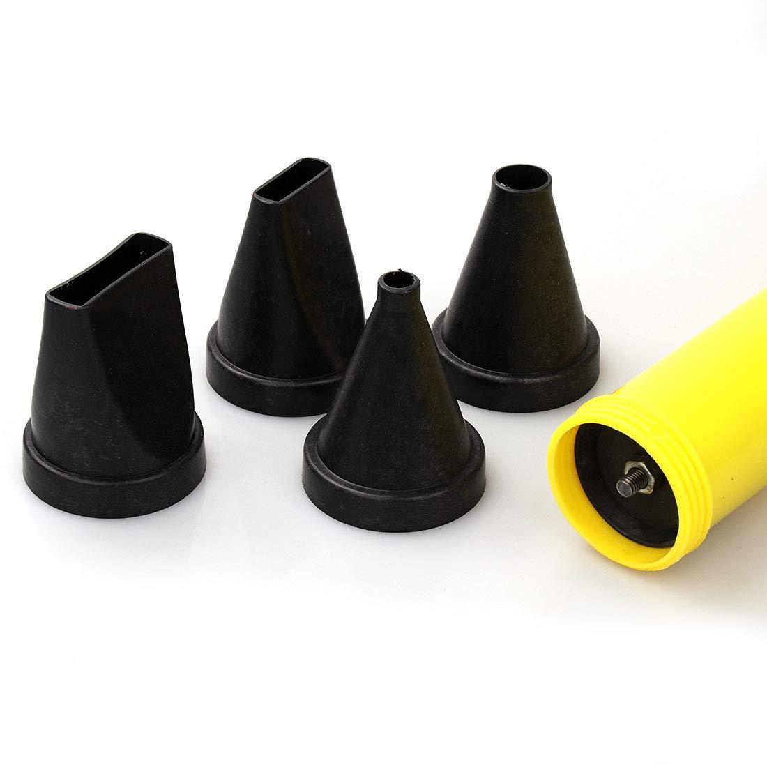 Pistolet /à calfeutrer pointeur Mortier Ciment Citron vert mortier pour d/écoration de maison avec 4 buses