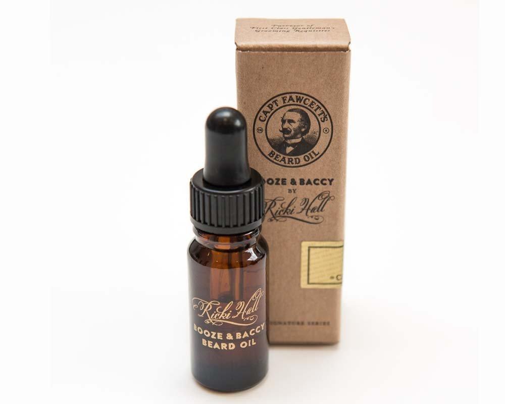 Captain Fawcett Ricki Hall's Booze & Baccy Beard Oil img