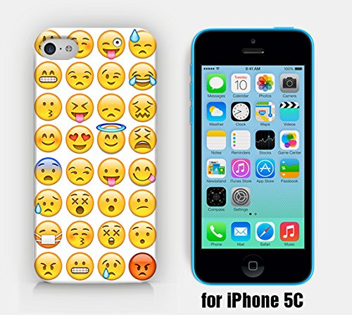 for iPhone 5C - Emoji Collection - Ship from Vietnam - US Registered Brand