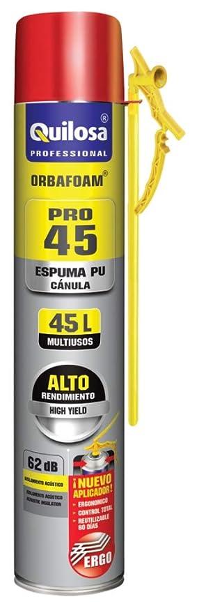 Espuma expansiva de poliuretano 750 ml aplicación Manual con boquilla