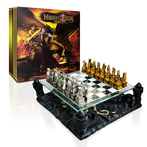 Dragon King Chess Set