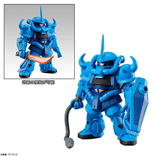 Mobile Suit Gundam FW Converge #12 MS-07 Gouf Character Candy Toy Mini Figure Collection Anime Art