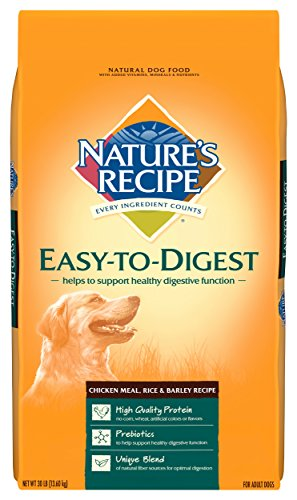 Nature'S Recipe Easy To Digest Dry Dog Food, Chicken Meal, Rice & Barley Recipe, 30-Pound For Sale