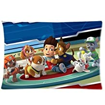 "Hey-Boss Paw Patrol Custom large Zippered pillow cases pillowcase 20"" X 30"" (Twin sides)"