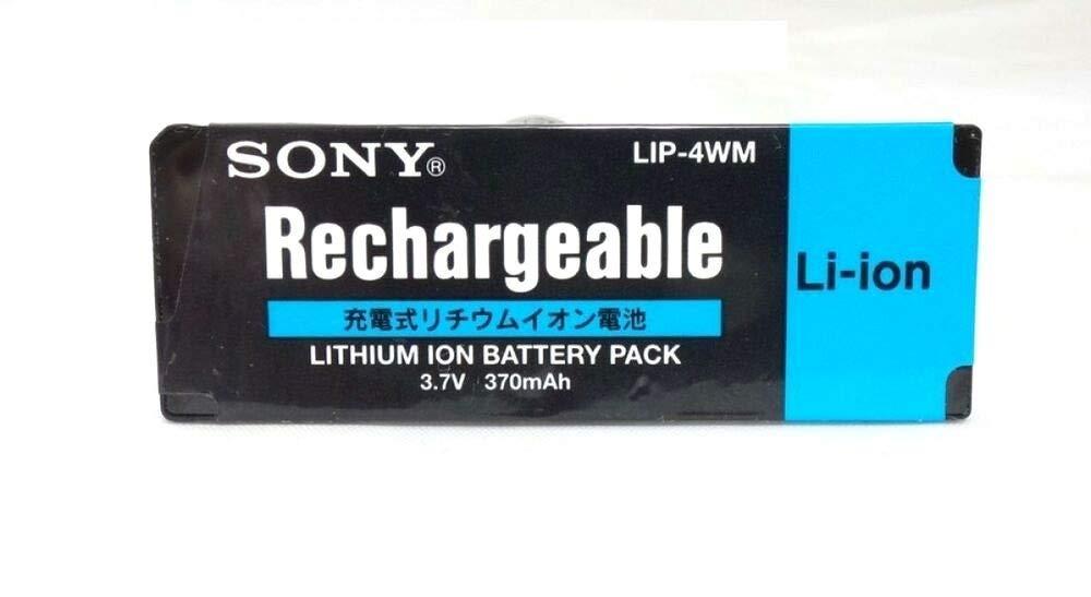 Battery Lithium Storage LIP-4WM 3.7V 370mAh Mini Disc for Sony MZ-DH10P MZ-NH1 MZ-RH1 175642531