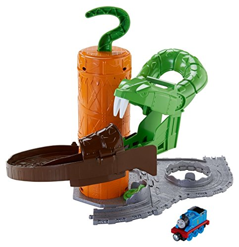 Fisher-Price Thomas & Friends Take-n-Play, Rattling Railsss Snake Ride (& Thomas Friends Sodor Bay)