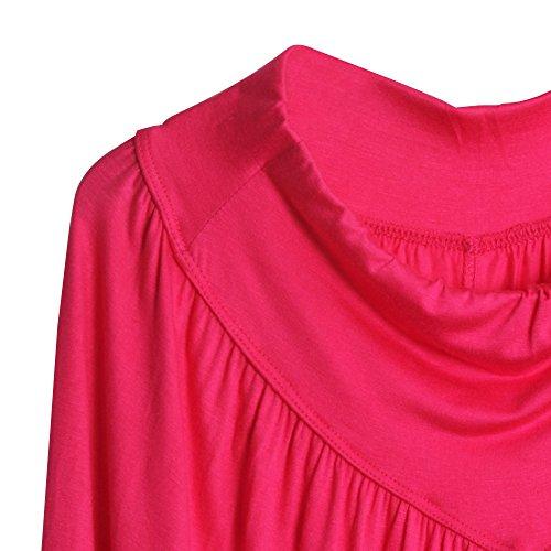 Rosso morbido lunghezza Nuovi ultra della Harem pantaloni per 3 donne di pantaloni 4 Yoga comodi di Sidiou gamba Modal cascanti pantaloni Group aBYqAax1