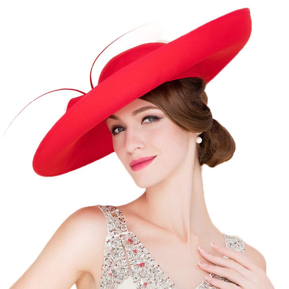 456177be Royal Ladies Sinamay Weddings Hats Fascinators Big Brim Kentucky ...
