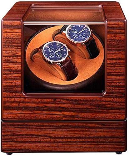 ワインディングマシーン 5モードウォッチワインダー収納ケースウォッチワインダーボックス静かなモーター&ACアダプタ電源 KANULAN (Color : 6+7)