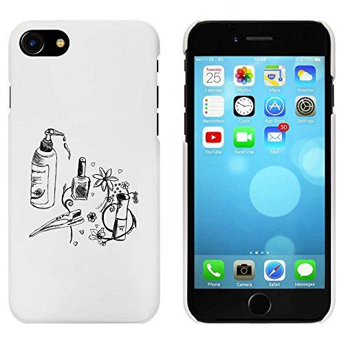 Blanc 'Accessoires de Beauté' étui / housse pour iPhone 7 (MC00062902)