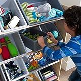 KidKraft Sort It & Store It Bin Unit - Gray