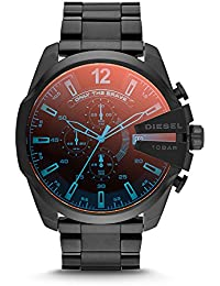 Men's DZ4318 Mega Chief Black Ip Watch