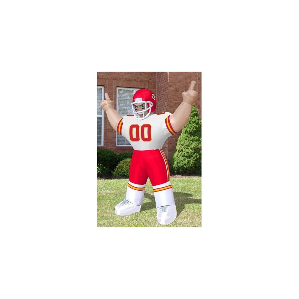 BSS   Kansas City Chiefs NFL Inflatable Tiny Player Lawn Figure (96 Tall)