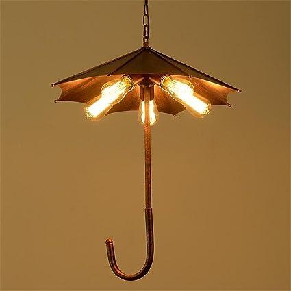 Lámparas de araña Araña de paraguas colgante retro luces de ...