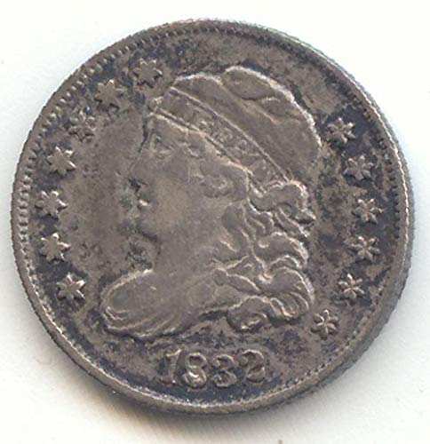 - 1832 Capped Bust Half Dime About Uncirculated Details