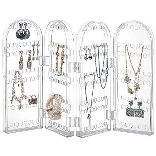 Beautify-Porte-Boucles-doreilles-Acrylique-Repliable-Porte-bijoux-Prsentoir-Organisateur