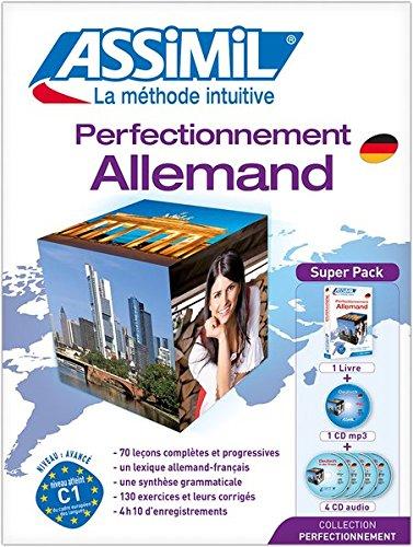 Deutsch in der Praxis für Französischsprechende - ASSiMiL Sprachkurs: Allemand perfectionnement - Lehrbuch (B2-C1) + 4 Audio-CDs + 1 USB-Stick