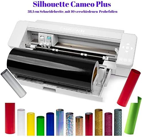 Silhouette Cameo 4 Plus - plóter de corte (15 láminas mixtas y 100 diseños): Amazon.es: Hogar