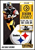 2018 Panini Contenders Season Tickets #17 Antonio Brown NM-MT Pittsburgh Steelers Official NFL Football Card